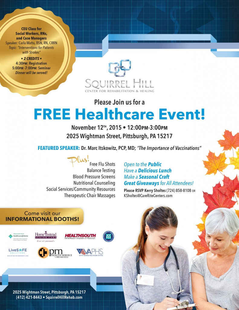 Squirrel-Hill-Healthcare-Event-Flyer